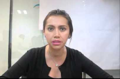 Sandra Corona ve la paja en el ojo ajeno y no la viga en el propio