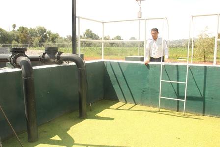 Activa alcalde de Huactzinco planta tratadora de aguas negras