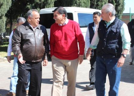Entregan en Huamantla apoyo  a productores del campo