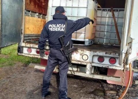 Detienen a sujeto con 28 mil litros de hidrocarburo robado