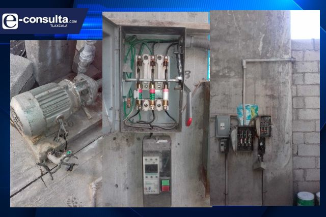 Gobierno de Huamantla eroga recursos extraordinarios para adquirir equipo de bombeo en Infonavit