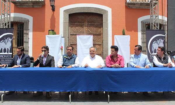 Presentan los carteles taurinos de la Feria Huamantla 2016
