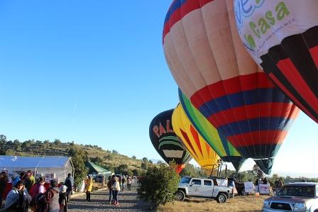 Inicia en Huamantla el 5° Festival del Globo Aerostático