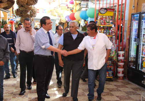 Remodelarán mercado de Huamantla bajo los lineamientos de Pueblo Mágico