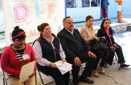Clausuran en Huamantla curso para personas con capacidades diferentes