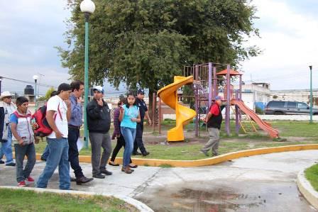 Plantean vecinos de Huamantla necesidades al alcalde