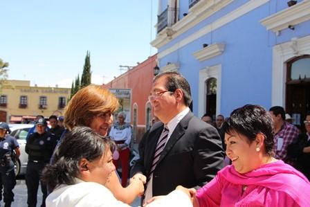 Mujeres de Huamantla contribuyen a su desarrollo: alcalde