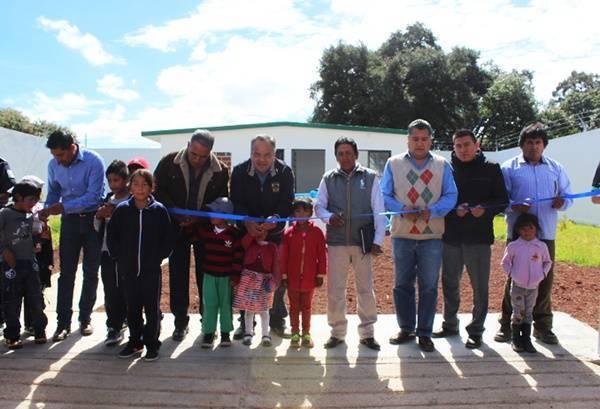 Entrega JAAL pozo de agua potable en comunidad de Huamantla