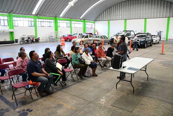 Ayuntamiento capacita a beneficiarios del fortalecimiento al campo