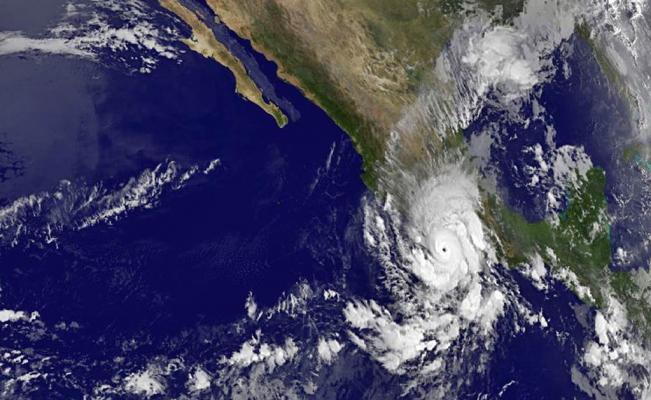 En 2018, seis ciclones tropicales impactaron en México por el Océano Pacífico
