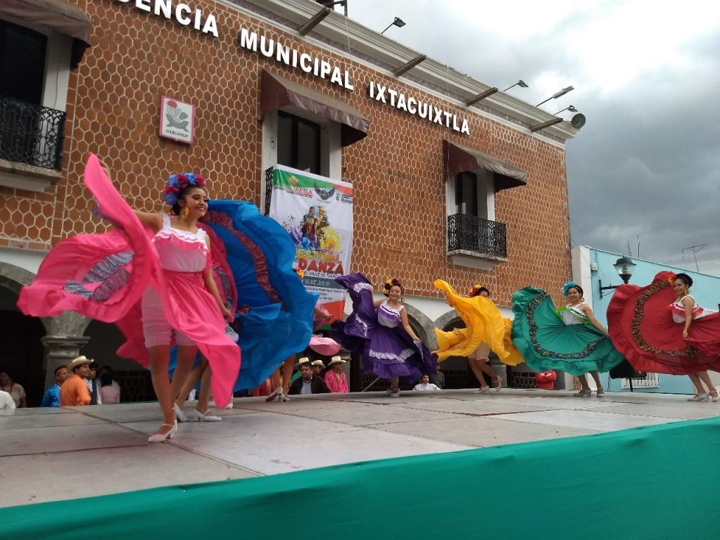Llegó a Ixtacuixtla el 1er Festival de Danza del Valle de Tlaxcala