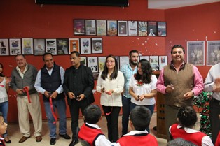 Zacualpan alberga la galería itinerante del IAIP Tlaxcala