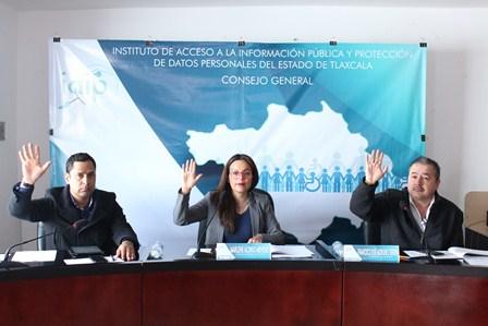 IAIP Tlaxcala solicitó diversa información a sujetos obligados
