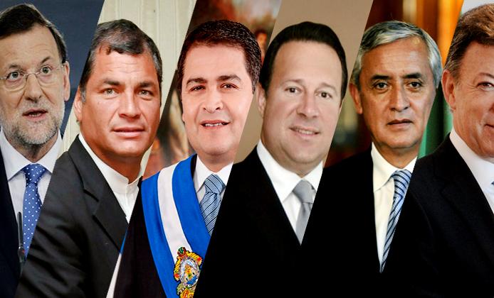 Presidentes iberoamericanos hablan del momento crítico de México