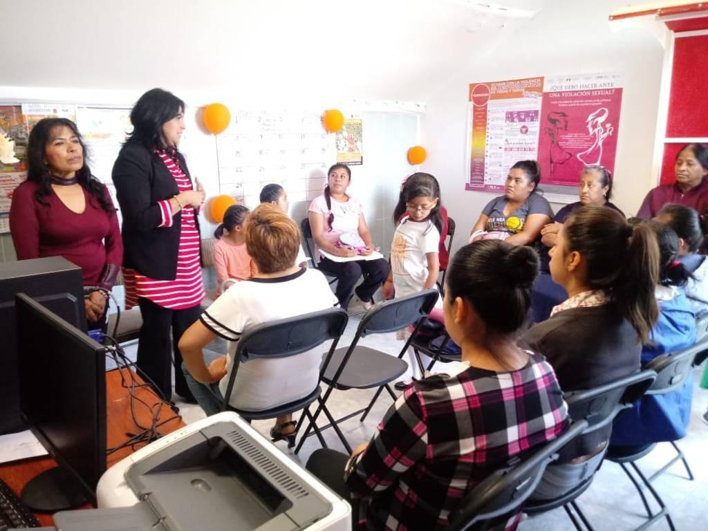 El IMM de Amaxac brinda orientación en materia psicológica a mujeres