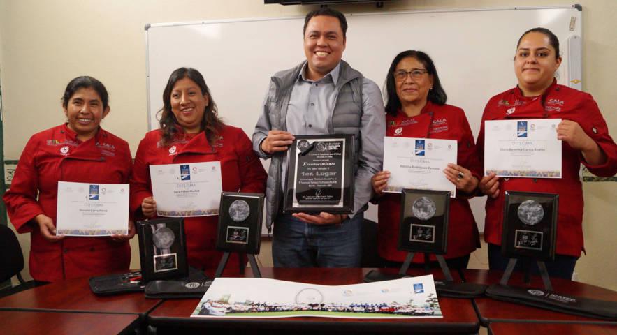 Gana Tlaxcala concurso nacional de los institutos de capacitación para el trabajo