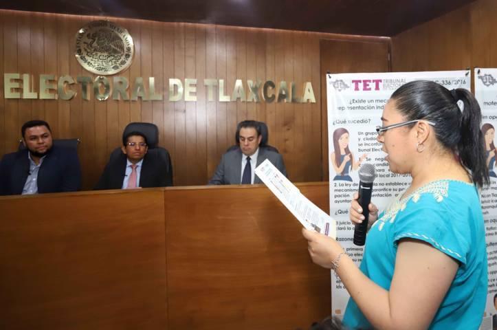 Capacitará Icatlax a personal del TET en atención y servicio al público
