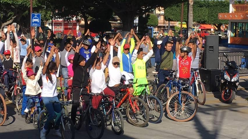 Invita IDET a participar en paseo ciclista