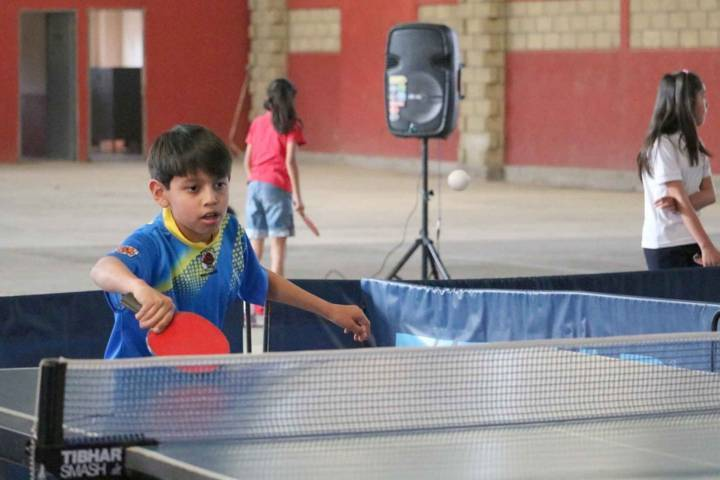 Invita IDET a participar para formar parte del selectivo estatal de tenis de mesa