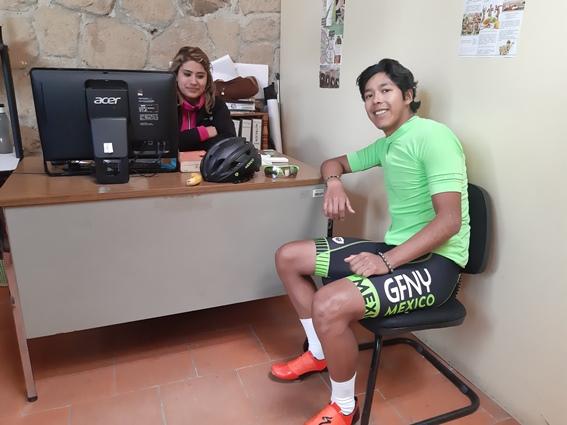 Miguel Arroyo listo para la Copa Federación, selectiva a Juegos de Conade