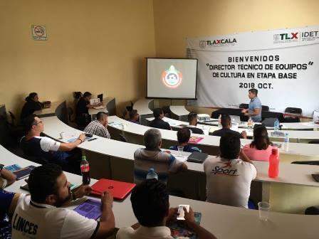 Inicia IDET con curso de Capacitación para entrenadores de futbol