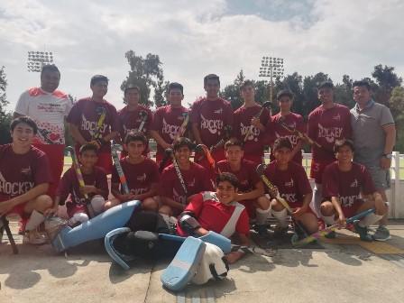Equipos tlaxcaltecas de hockey participaron en Copa Indios en Jalisco