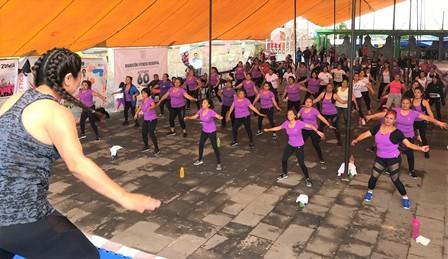 Autoridades fortalecen estrategia de activación física  en Tlaxcala