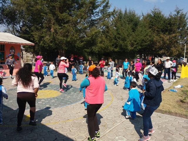 Inicia IDET activación física en municipios tlaxcaltecas