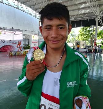 Logra tlaxcalteca medalla de oro en Paralimpiada Nacional 2018