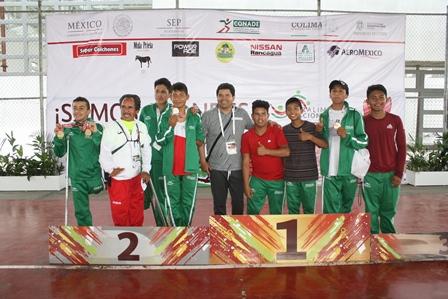 Destacan atletas tlaxcaltecas en la Paralimpiada Nacional en Colima