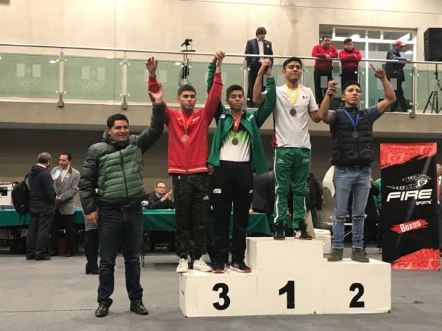 Gana tlaxcalteca Miguel Ángel Capilla oro en Campeonato Nacional De Boxeo