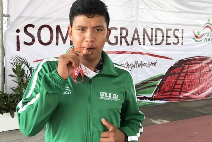 Obtienen deportistas tlaxcaltecas 20 medallas en Paralimpiada Nacional