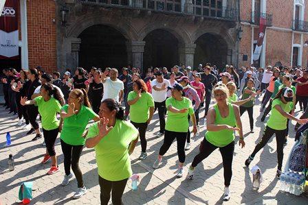 Tres mil personas participaron en semana de cultura física
