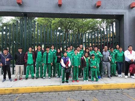 Tlaxcaltecas viajan a los Juegos Nacionales Populares