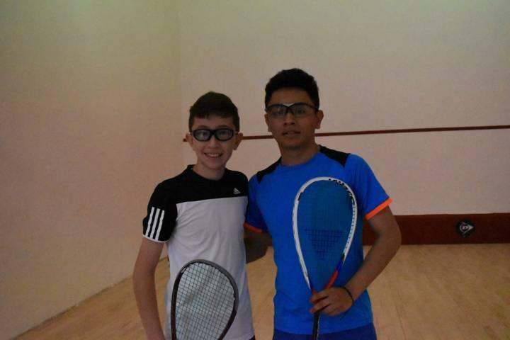 Obtienen tlaxcaltecas oro y plata en squash de la Olimpiada Nacional