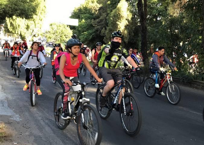 Realizará IDET paseo ciclista nocturno en Nanacamilpa