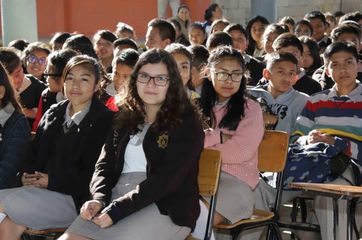 Inicia IEM campaña informativa en planteles educativos