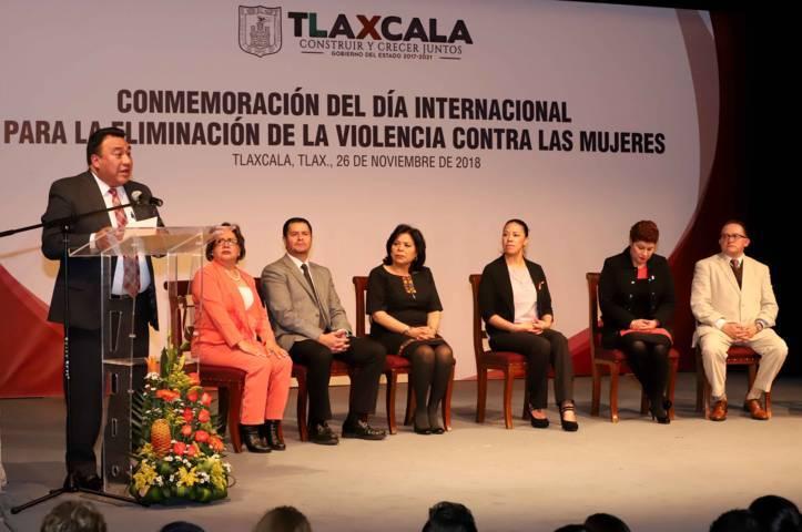 Conmemoran Día Internacional para la Eliminación de la Violencia contra las Mujeres