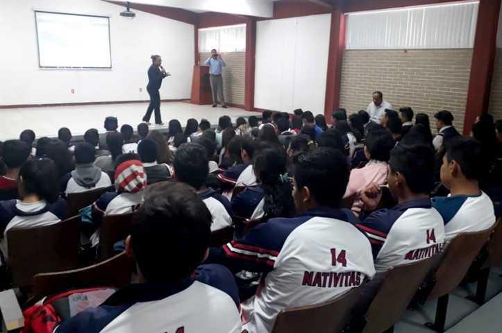 Sensibilizará IEM a 500 estudiantes y docentes del Cobat para prevenir casos de violencia