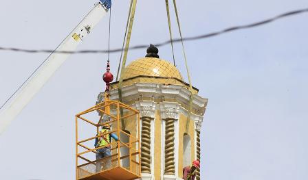 Inicia la reparación de iglesias dañadas por el terremoto