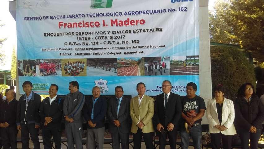 Realizan en Nanacamilpa XXXI Encuentro Inter CBTAS 2017