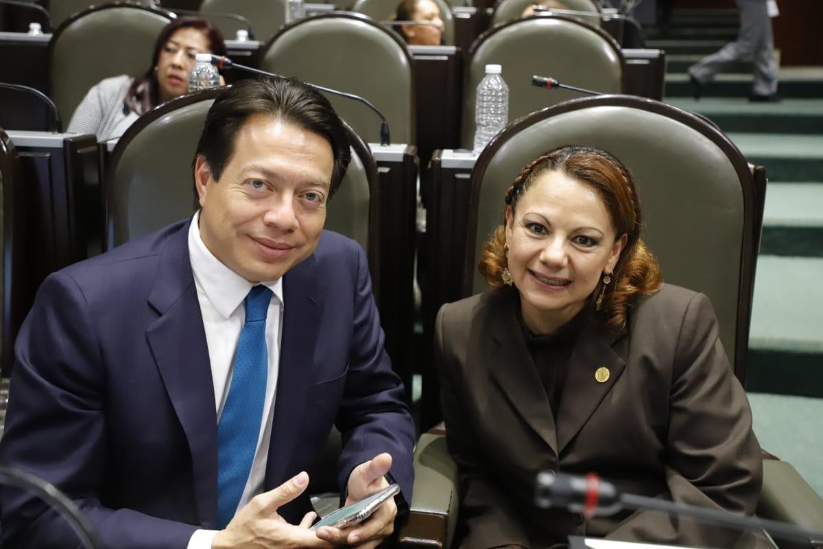 Reconoce Claudia Pérez labor de diputados locales al avalar creación de Guardia Nacional