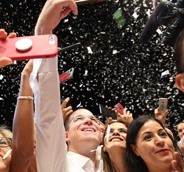 Expresan su total respaldo a Ricardo Anaya para la presidencia