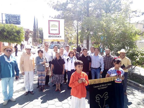 "Llega Zacatelco al Festival de la Matanza ""Kuthenzo"" en Tehuacán"