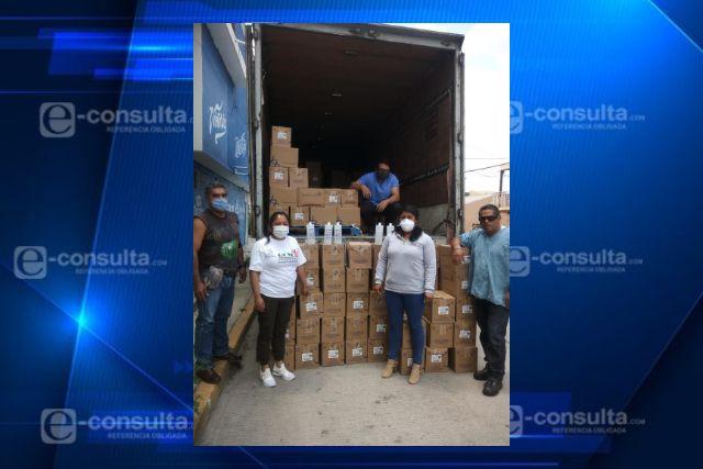 Brinda ayuda Granjas Carroll a trabajadores del sector salud de Puebla y Veracruz