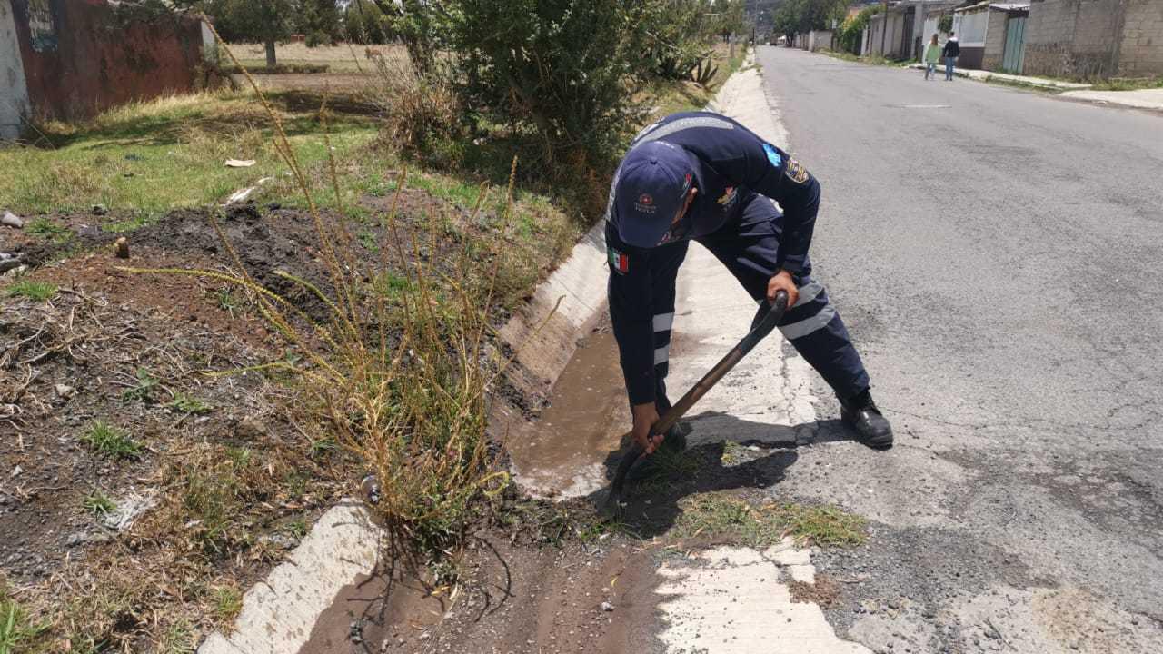 Emite Protección Civil de Tetla recomendaciones ante la temporada de lluvias