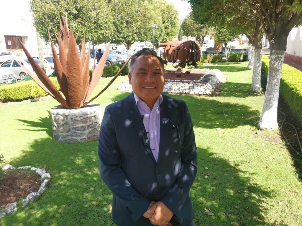 Reanudan en Tetla difusión de acciones municipales