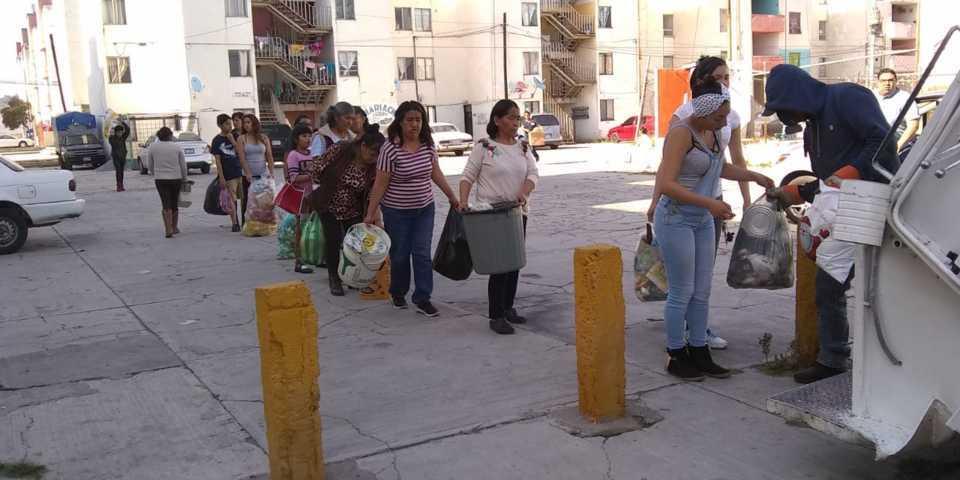 Recortan los días de recolección de basura en Tetla de la Solidaridad