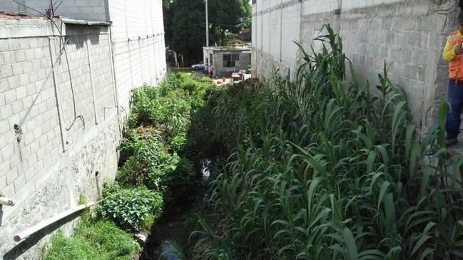 Colector pluvial una realidad para vecinos de Zavaleta