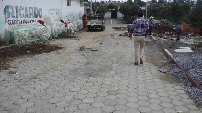 Cambian redes de drenaje en Texóloc